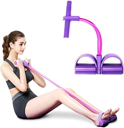 Muscle Latex Band Pedal Exercise Resistance Workout Gym Elastic Sport Belts