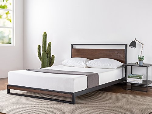 modern bed frame king - 9