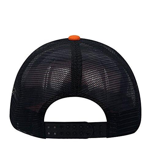 Reddish oriental Orange Gorra spring hombre béisbol de Black para x0OUAq0rw