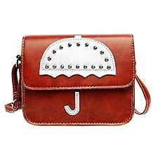 Bessky® Women Casual Messenger Shoulder Bag Clutch Handbag Tote Purse Girls Shoulder Bags,Small Umbrella RivetPackage