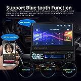 Single Din Car Stereo System - 7 Inch HD Car Radio