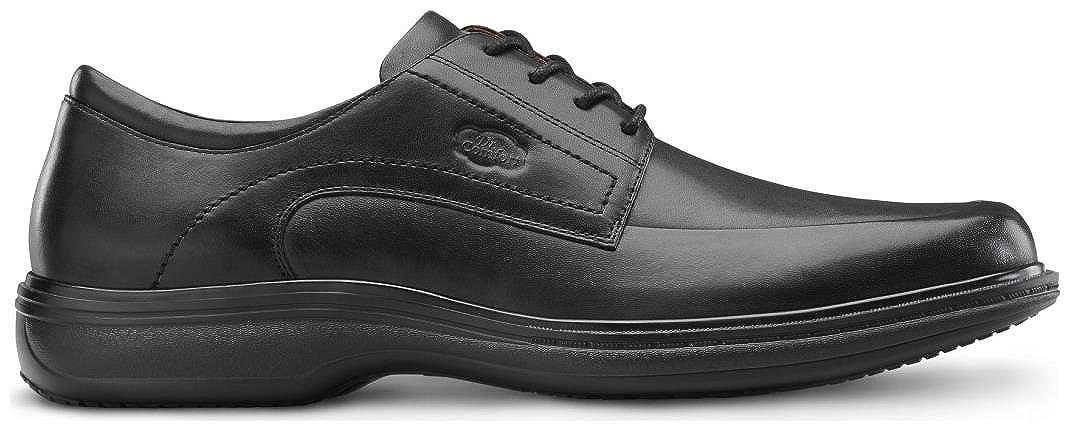 Dr Comfort Mens Classic Black Diabetic Dress Shoes