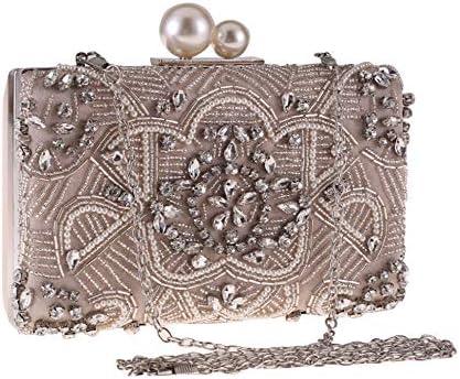 ハンドバッグ - 新しいダイヤモンドはヨーロッパ野生バッグイブニングバッグの結婚式の夕食は、花嫁介添人クラッチの財布になりますクラッチバッグビーズ よくできた