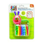 The World of Eric Carle, The Very Hungry Caterpillar Rattle Teether with Links, 6