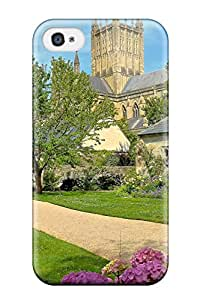 Unique Design Iphone 4/4s Durable Tpu Case Cover Wells Cathedral