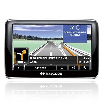 Navigon 4350 max - Navegador GPS con mapas de Europa ((4.3 pulgadas),