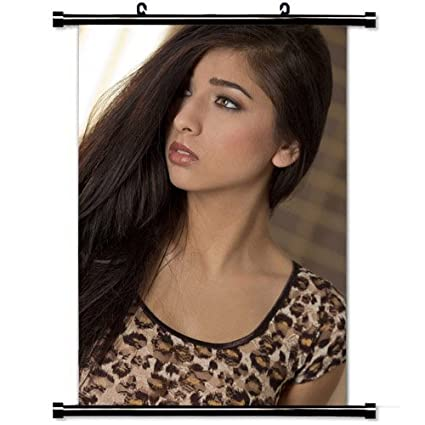 Home Decor Art Poster With Megan Salinas Girl Wallpaper Wall Scroll Poster Fabric Painting 23 6 X