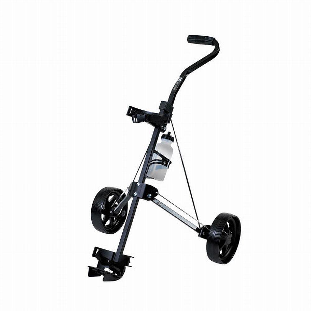 On Course Junior Pull Cart Black Golf