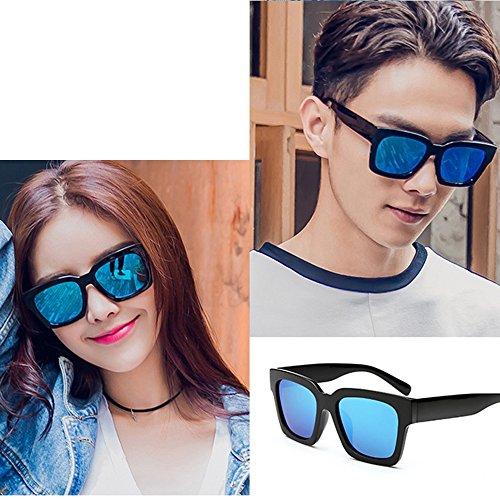 de lunettes hommes des conduite lunettes soleil protection lunettes soleil polarisées de A B de personnalité Wayfarer Couleur de de solaire couple ZHIRONG 8xAwzqA
