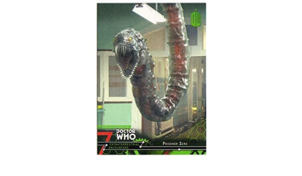 Amazon.com: 2016 Topps Doctor Who Exraterrestrial Encounters #39 Prisoner Zero: Collectibles & Fine Art