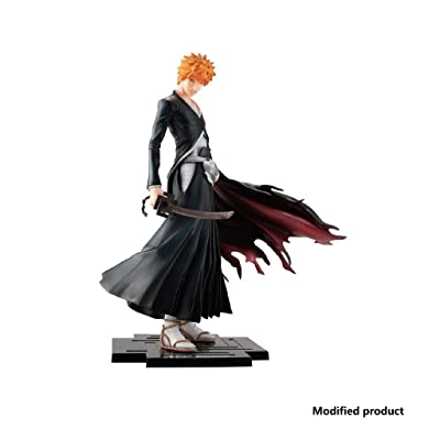 Siyushop Bleach: Ichigo Kurosaki PVC Figure - Heaven Locks The Moon - High 8.2 Inches: Toys & Games [5Bkhe1100944]