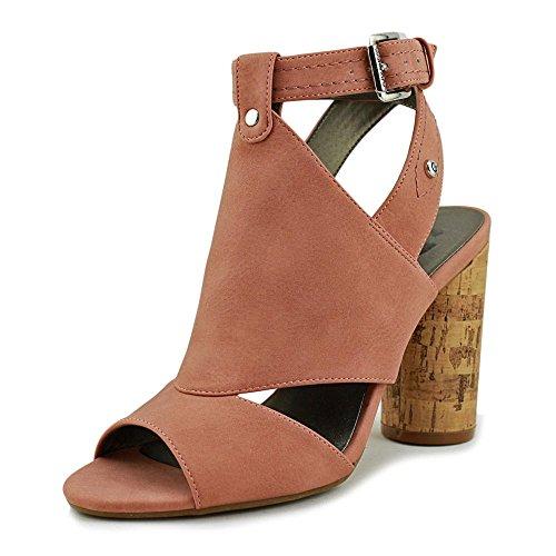 G by GUESS Womens Jonra Open Toe Casual Ankle Strap Sandals Dusty Rose Jayne Nubuck zjaW4hAroW