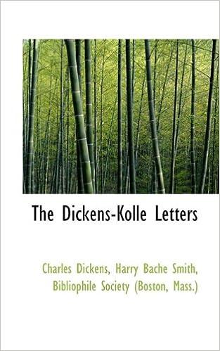 4fc3467b9f60 Amazon.com: The Dickens-Kolle Letters (9781115684460): Harry Bache ...