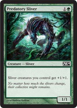 Sliver Magic Gathering (Magic: the Gathering - Predatory Sliver - Magic)