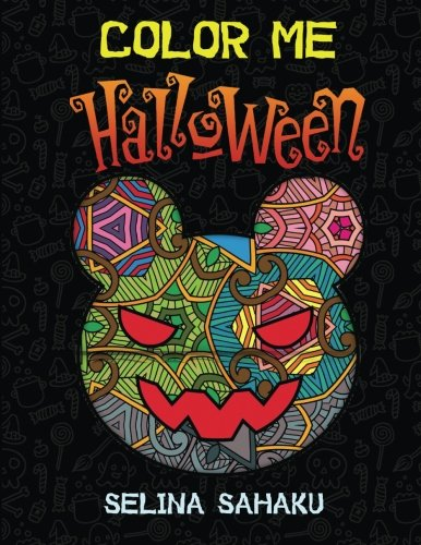 Color Me Halloween: 25 Amazing Halloween images + 10 Extra Printable -