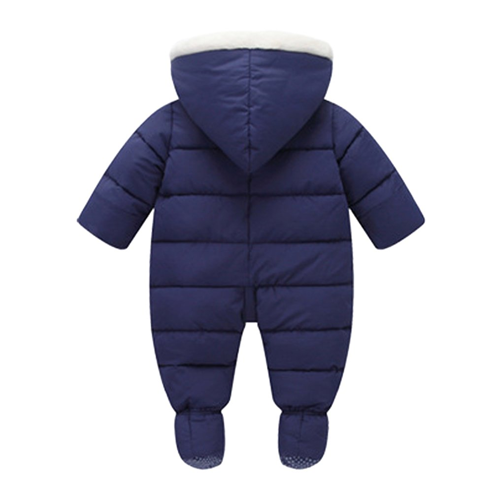 d758bb67efa6 Tortor 1bacha Infant Baby Girl Boy Winter Puffer Footed Snowsuit ...