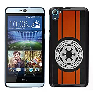 Design for Girls Plastic Cover Case FOR HTC Desire D826 Space Writing OBBA
