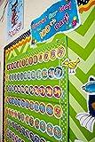 Teacher Created Resources Lime Polka Dots 7 Pocket