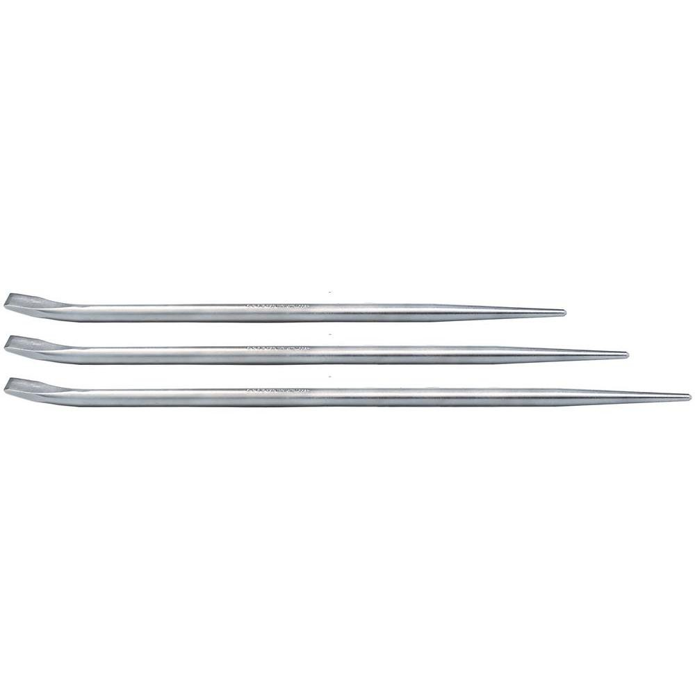 Mayhew Tools 69151TR Plated Jimmy Bar Set (3 Piece)