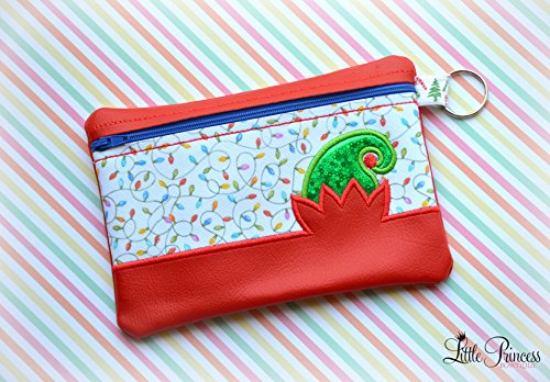 Elf Bag, Christmas Bag, Cosmetic Bag, Toiletry Bag,
