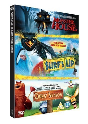 Surf's Up/Open Season/Monster House [Import anglais] (Monster House Tv Series)
