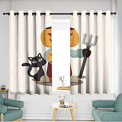 Grommet Window Curtains Blackout Window Curtain 2 Panel W 63