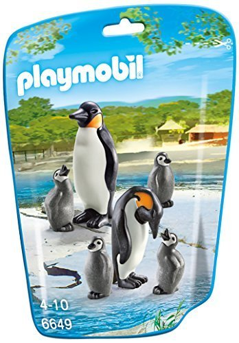 PLAYMOBIL Penguin Family Building Kit by PLAYMOBILÃ'®
