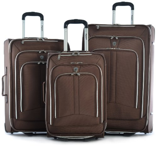 Olympia Hamburg Luggage Set, Brown, One - Brown Luggage