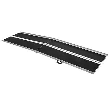 Rampa Plegable de Aluminio portátil de 10 pies | Rampa para Silla de ...