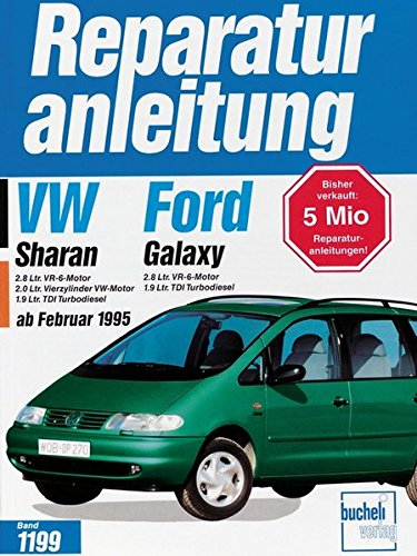 VW Sharan / Ford Galaxy (Reparaturanleitungen): Amazon.de: Bücher