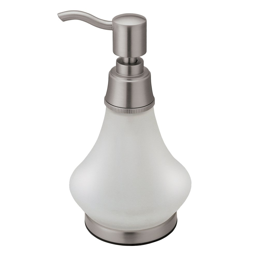 Amazon.com: Gatco 1486BZ Frosted Glass Soap Dispenser, Bronze ...