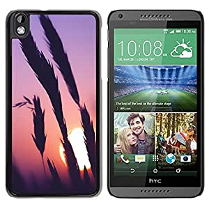 New Beautiful Custom Designed Cover Case For HTC Desire 816 With Sunset Time Phone Case