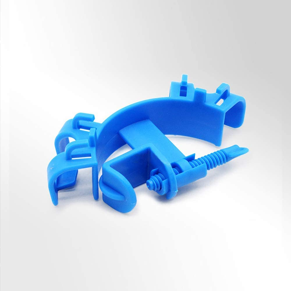 Clip di Fissaggio di plastica qualit/à per Acquario Tubo 3 PCS Fish Tank Flessibile Supporto Fisso Morsetto Clip N\O Supporto del Morsetto Regolabile per Tubo dell/'Acqua