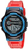 Armitron Sport Unisex 45/7064RED Blue Accented Digital Chronograph Red Resin Strap Watch