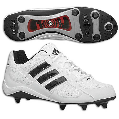 - adidas Men's Corner Blitz D ( sz. 09.5, White/Black/Silver : Low Cut )