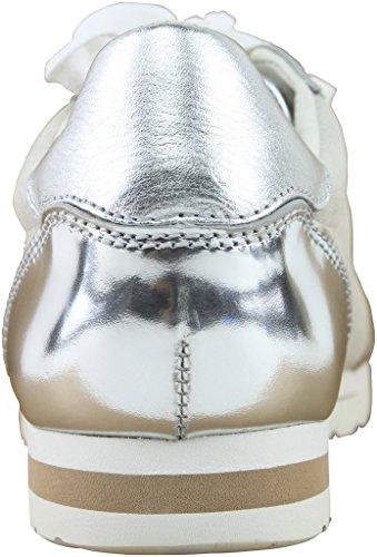 Coach Womens Ian Sneaker (Midnight Navy/Chalk) Silver/Chalk Mirror Metallic/Suede lkJvmzu
