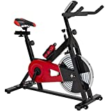 Best Choice Products Exercise Bike Health Fitness Indoor Cycling Bicycle Cardio Workout W/ LCD Screen For Sale