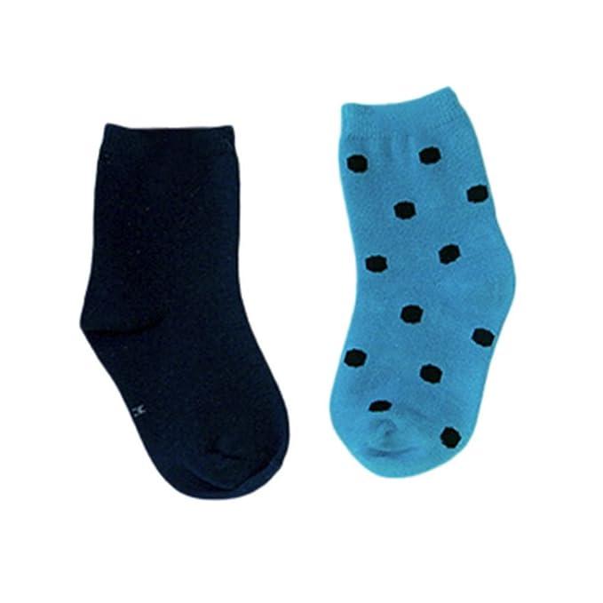 Calcetines Niño Algodon, K-youth® Asimétrico Personalidad Calcetines Bebe Antideslizantes Calcetines Bebe Niña