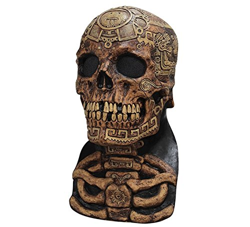 Aztec Costume Halloween (Aztec Skull Mask - ST)