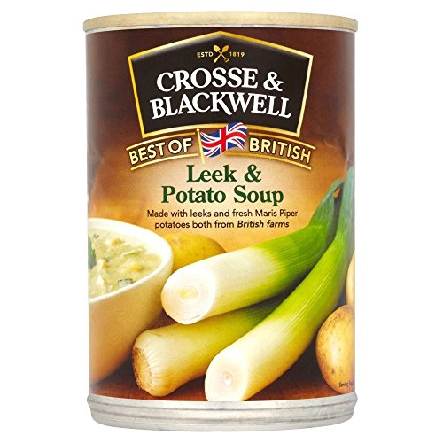 Crosse & Blackwell British Leek & Potato Soup (400g) - Pack of 2