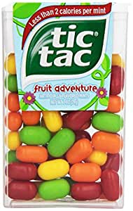 What is the nutritional value of Tic Tacs?