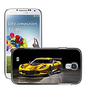 CarCase Slim Case Cover Backcover Frame Shell Samsung Galaxy S4 IV i9500 // chevrolet corvette c7 r 2014 //