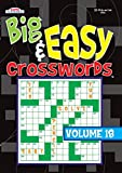 Big & Easy Crosswords Puzzle Book - Volume 18