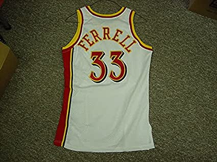 a5c40c652 Duane Ferrell Atlanta Hawks 1992-1995 Game Jersey at Amazon s Sports ...