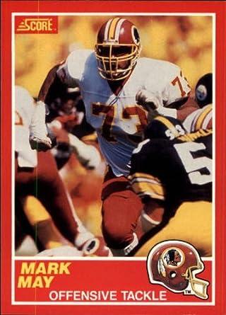 Amazoncom 1989 Score Football Rookie Card 116 Mark May Mint