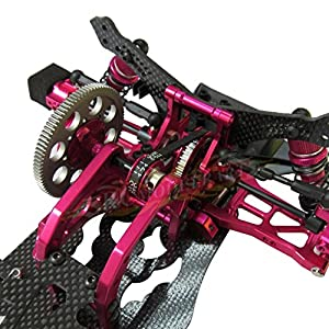 Hobbypower 1/10 Alloy & Carbon RWD Drift Racing Car Frame Body Kit for SAKURA D4 RWD #KIT-D4RWD