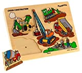 Puzzibilities Under Construction Wooden Sound Puzzle