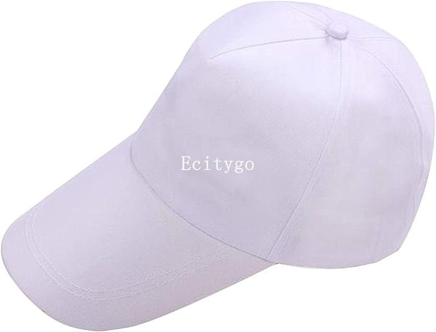 Summer Mens Baseball Cap Dad Hats Unisex Plain Fitted Womens Trucker Hats Solid Color Hip Hop Flat Caps