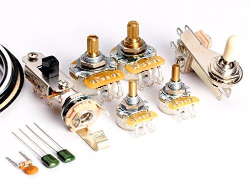 ToneShaper Guitar Wiring Kit, For Fender Jazzmaster