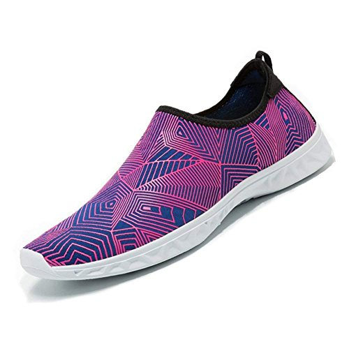 Mesh Slip Lightweight Shoes Shoes for Men Water Kids Drying Red Rose Sports Water HooyFeel Aqua On Women Sole Quick zwvxXYnqA